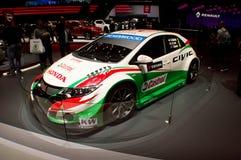 Honda Civic WTCC Genève 2016 Stock Foto's