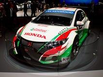 Honda Civic WTCC Genève 2016 Royalty-vrije Stock Afbeelding