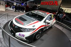 Honda Civic WTCC racecar Royalty Free Stock Photography