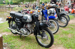 Honda classic motorcycle Stock Photography