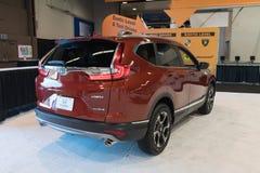 Honda CR-V en la exhibición Fotografía de archivo