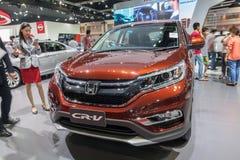 Honda CR-V en la exhibición Fotografía de archivo libre de regalías