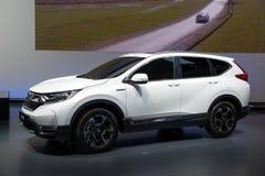 Honda CR-V Hybrid Prototype showcased Stock Photos
