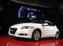 Honda CR-Z - 2010 Geneva Motor Show Royalty Free Stock Photo