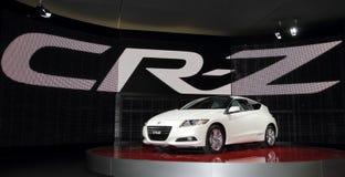 Honda CR-Z - de Genebra mostra 2010 de motor Foto de Stock Royalty Free