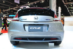 Honda CR-Z on display Stock Photos