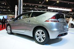 Honda CR-Z on display Royalty Free Stock Photography