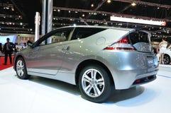 Honda CR-Z en la exhibición Fotografía de archivo libre de regalías