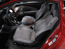 Honda CR-Z Interior Royalty Free Stock Photos