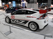 Honda CR-Z Racer Stock Photo