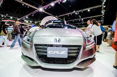 Honda CR-Z at Thailand motor show. Royalty Free Stock Photo