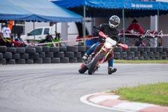 Honda CRF250 Super Moto Stock Images