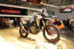 The honda crf world premiere 2016 Royalty Free Stock Images