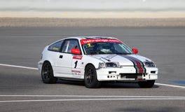 Honda CRX racing Stock Image
