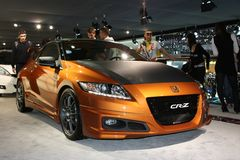 Honda CRZ Stock Photo