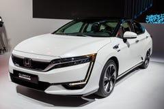 Honda-de Celauto van de Duidelijkheidsbrandstof Royalty-vrije Stock Foto