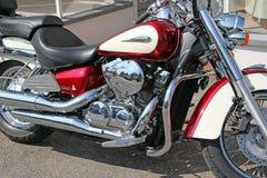 Honda-de fiets van de schaduwbijl Stock Foto