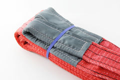 Honda de las correas de la materia textil fotos de archivo libres de regalías