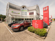 Honda dealer Stock Photos
