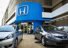 Honda dealership Stock Image