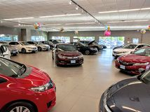 Honda dealership Stock Photography