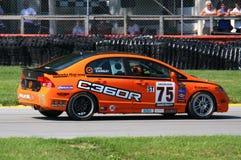 Honda die race reizen Royalty-vrije Stock Foto's