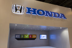 Honda Display Royalty Free Stock Photography