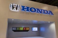 Honda Display. HOUSTON - JANUARY 2012: The Honda display at the Houston International Auto Show on January 28, 2012 in Houston, Texas Royalty Free Stock Photography