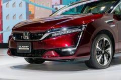 Honda-Duidelijkheid Fuel Cell in Kuala Lumpur Motor Show stock foto's