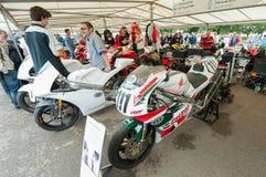 Honda en Ducati Royalty-vrije Stock Afbeelding