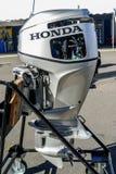 Honda engine exhibit at Norwalk boat show 2016 Stock Photos