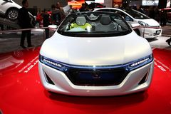 The Honda EV-Ster Concept Stock Photos