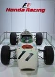 Honda F1 racerbil Arkivfoto