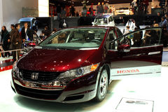 Honda FCX Clarity at the Motor Show 2010, Geneva Royalty Free Stock Photo