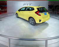 Honda Fit Royalty Free Stock Images