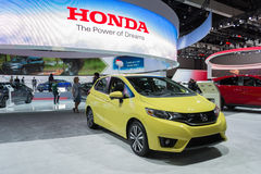 Honda Fit 2016 Royalty Free Stock Images
