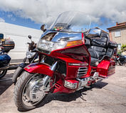 Honda goldwing 1500 6 cylinder Stock Image