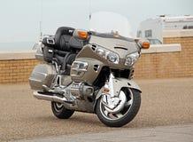 Honda goldwing luksusowego motocykl Fotografia Stock