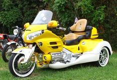 Honda Goldwing trójkołowiec fotografia stock