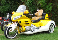 Honda Goldwing trehjuling Arkivbild