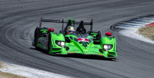 Honda HPD ARX wins at Laguna Seca Royalty Free Stock Photo
