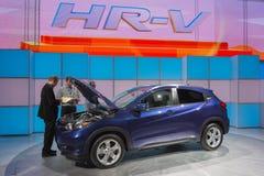 Honda HR-V Crossover  on display Stock Photos