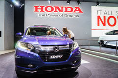 Honda HR-V, Motor Show Geneve 2015 Stock Photo