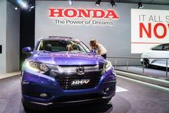 Honda HR-V, salón del automóvil Geneve 2015 foto de archivo