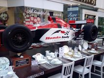 Honda indy f1 race car Royalty Free Stock Images
