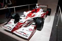 Honda indy f1 race car. The Honda Indy Toronto is an annual IndyCar Series race, held in Toronto, Ontario, Canada. Originally known as the Molson Indy Toronto royalty free stock photo