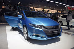 Honda Insight 1.3i Hybrid Elegance Plus Royalty Free Stock Photos