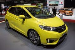 Honda Jazz-Auto lizenzfreie stockbilder