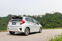 Honda Jazz Fit 2014 Stock Foto
