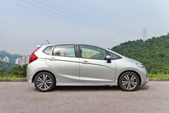 Honda Jazz Fit 2014 Fotografie Stock